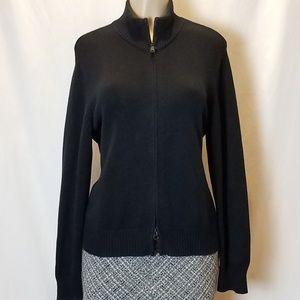 Eddie Bauer Cotton Zip-up Sweater